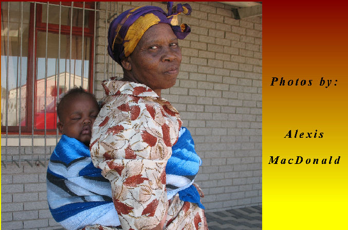 Grandmother and grandchild: South Africa - GAPA