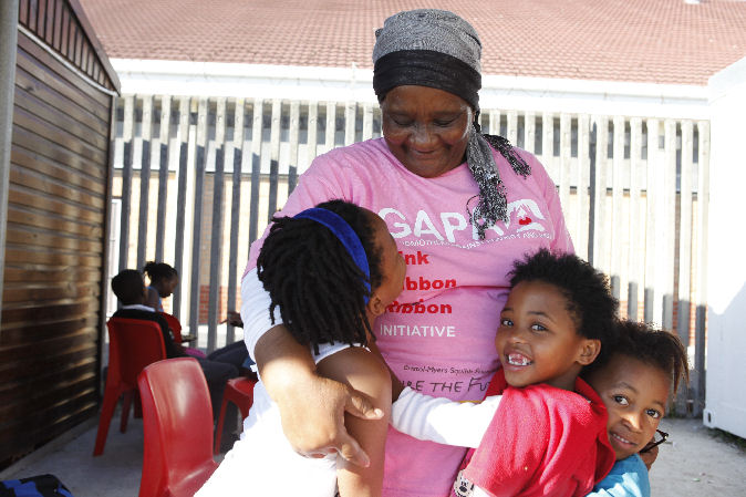 South Africa - Grandmothers against poverty, HIV and Aids